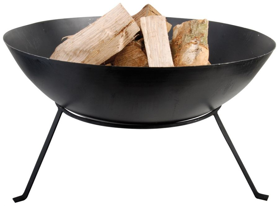 59 cm (1ft 11in) Small Fire Bowl With Stand