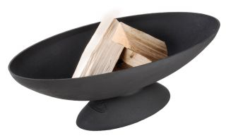 26.1 cm (10 in) Dia Oval Fire Bowl