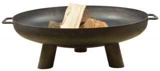 70. cm (2ft 3in) Dia Steel Firebowl