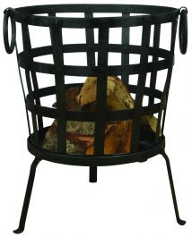 45 cm (1 ft 5 in) Reclaimed Metal Fire Basket