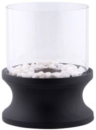 24.6 cm (9.6 in) Outdoor Bioethinal Fire , Round