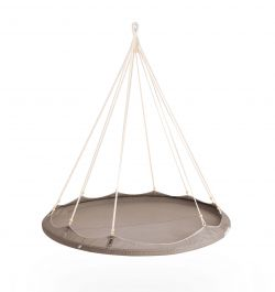 1.5m Nomad TiiPii  Bed -  Medium Hanging Day Bed - Taupe