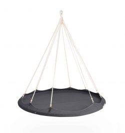 1.5 Nomad TiiPii Bed - Medium Hanging Day Bed - Charcoal Grey