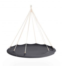 1.8 Nester TiiPii Bed - Large Hanging Day Bed - Charcoal