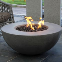 105cm Lunar Gas Fire Bowl