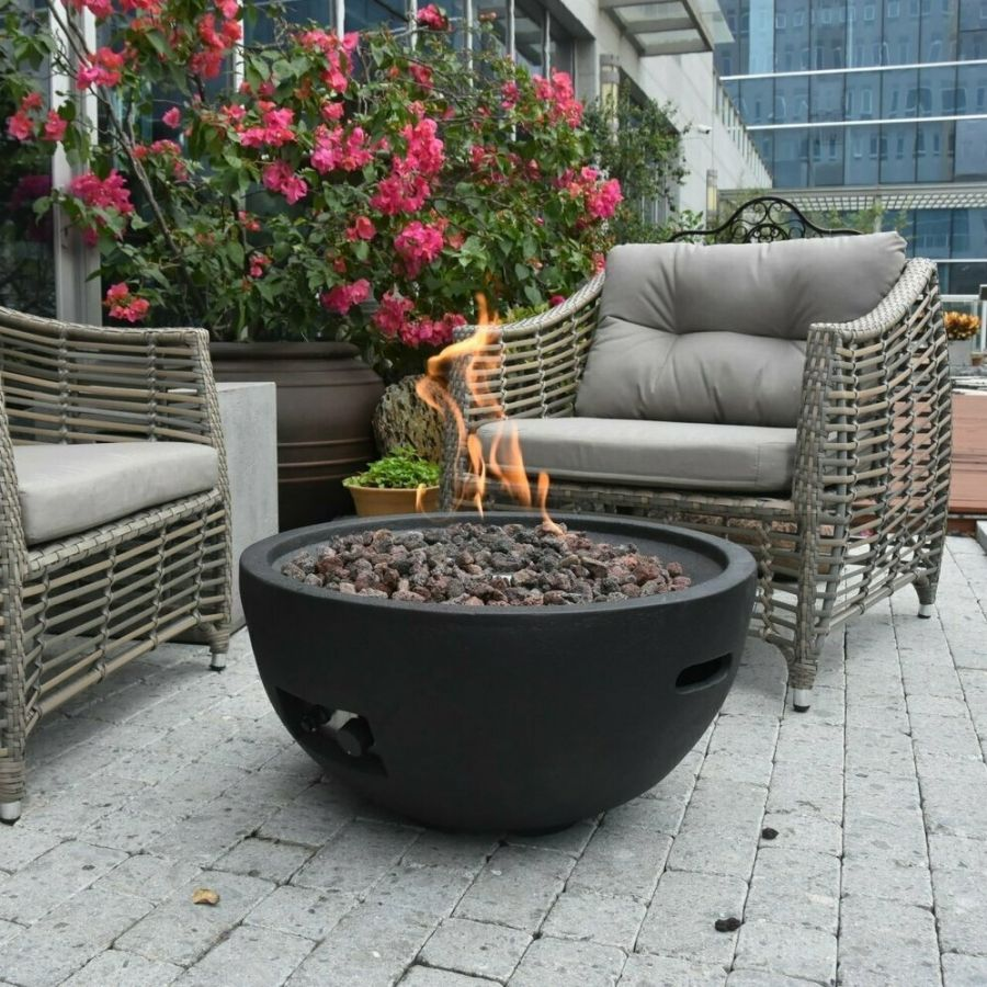 "26.3"" Jefferson Gas Fire Pit"