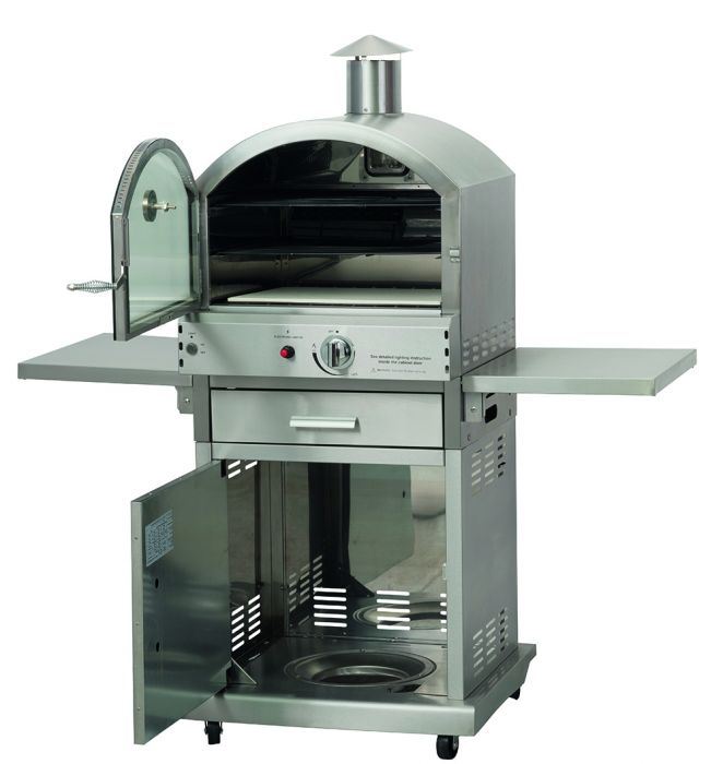 Milano Luxury Garden Gas Pizza Oven