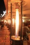 Firefly™ Samos 15kW Gas Patio Heater in Black