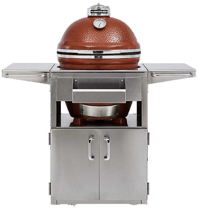 Kamado Joe Stainless Steel Table for Big Joe Standalone Barbecue