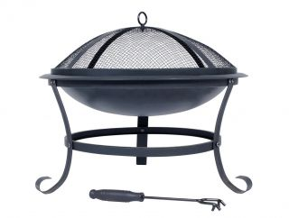 51cm Albion Steel Firepit - by La Hacienda™