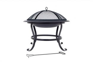75cm Boston Steel Firepit - by La Hacienda™