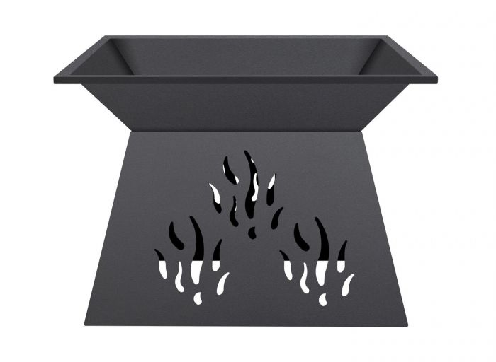 50cm Paro Steel Firepit - by La Hacienda™