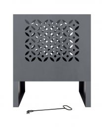 53cm Casablanca Steel Firebasket - by La Hacienda™
