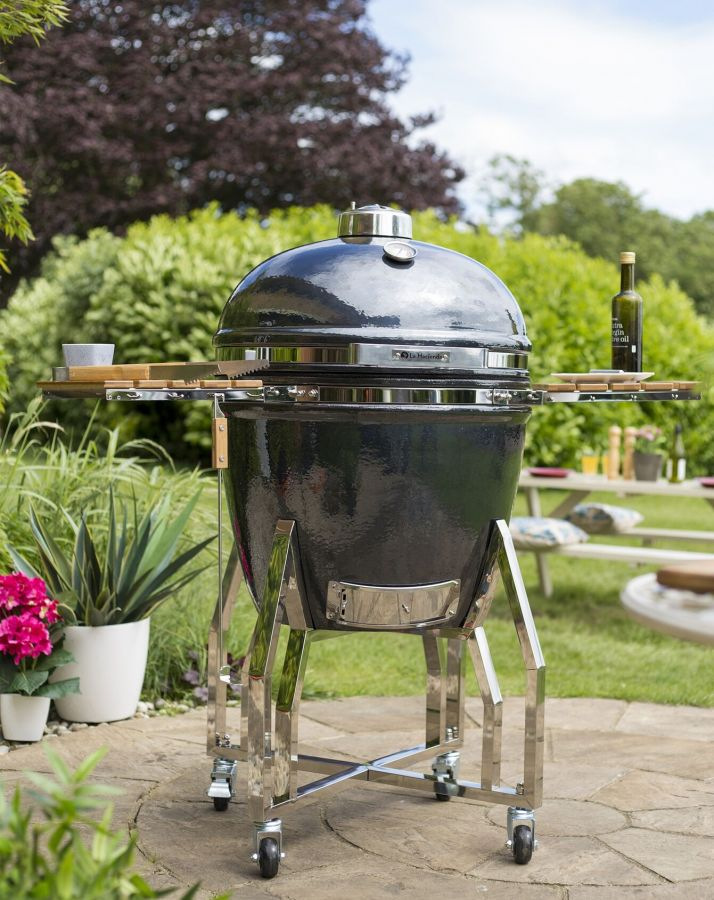 Kamado Steel Amp Clay Oven Extra Large H131 X W135 X D80cm