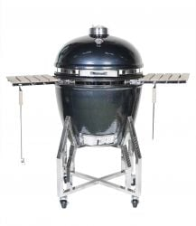 Kamado Steel & Clay Oven Extra Large - H131 x W135 X D80cm - by La Hacienda™