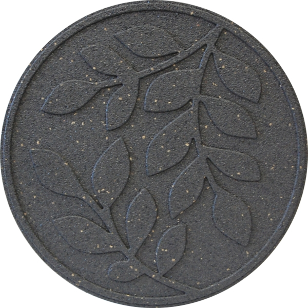 Reversible EcoTrend Stepping Stone Leaves design Grey