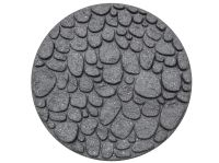 River Rock Stepping Stone Grey - Pack of 4