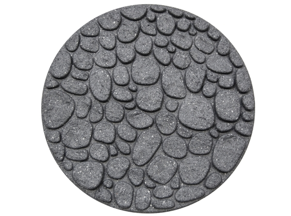 "18"" (46cm) River Rock Stepping Stone Grey"