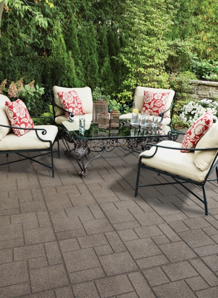 Garden Pavers Cobblestone Deck Tile - Pack of 2
