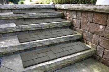 EcoTrend Stair Tread Cobblestone Earth