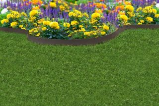 EZ Border Thinline Garden Edging in Earth - Pack of 5