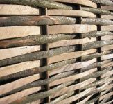 6ft (1.8m) Contemporary Split Hazel Hurdles Fencing Panel by Papillon�