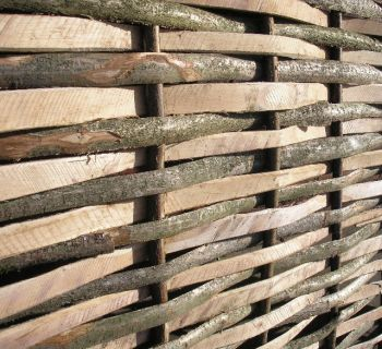4ft 6in (1.4m) Contemporary Split Hazel Hurdles Medium Fencing Panel by Papillon™