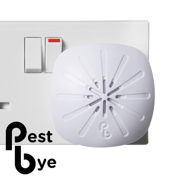 PestBye® Ultrasonic Mouse Control 400 Plug - Single Room