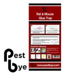 PestBye� Mouse glue traps
