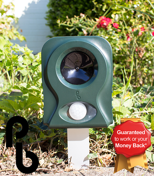 Pestbye� Battery Operated Cat Repeller V2 with HyperResonance Frequency�
