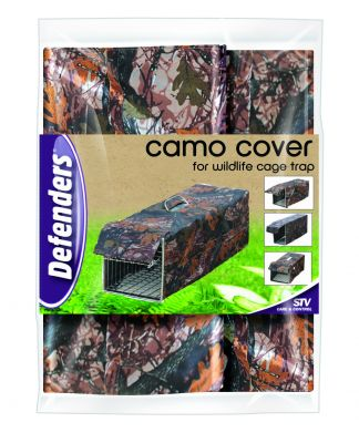 Camo Cover for Wildlife Cage Trap by Defenders™