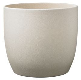 14cm Sahara Beige Indoor Plant Pot | By Primrose