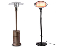 Gas vs Electric Patio Heaters
