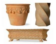 Why Terracotta Planters? More on materials...