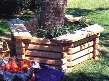 Extra Logs for Hexagonal Tree Seat / Planter