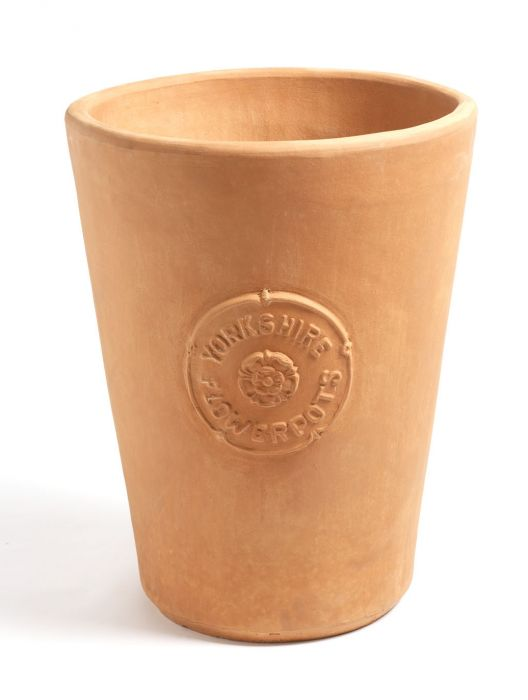 71cm Terracotta Longtom Hand Crafted Planter - Yorkshire Pots