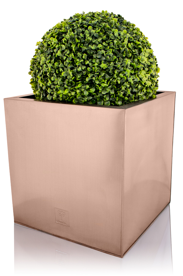 30cm Zinc Galvanised Cube Planter in a Copper Finish by Primrose® Zinc Planters Square Html on square aluminum planters, square iron planters, square stone planters, square brass planters, square outdoor planters, square tin planters, square terracotta planters, square fiberglass planters, square lead planters, square plastic planters, square white planters, square garden planters,