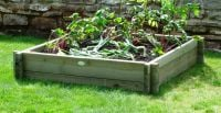 314 Litres - Large Raised Bed Kit - 119.5cm² (H22cm)