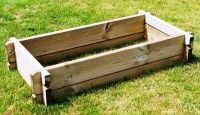 157 Litres - Small Raised Bed Kit 119.5cm x 60cm (H22cm)