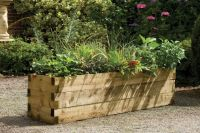 Caledonian Raised Bed Planter - H45cm x W1.8m