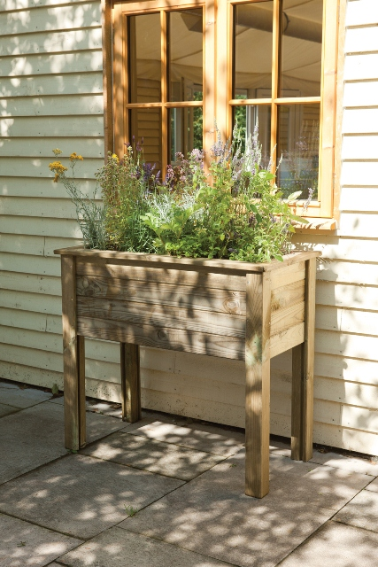 100cm Timber Bamburgh Planter Table