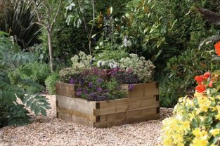 Caledonian Tiered Raised Bed - 90cm² (H60cm)