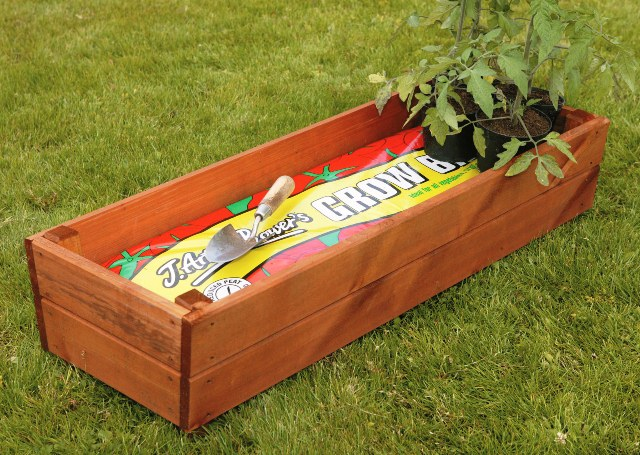L100cm Grow Bag Trough Planter