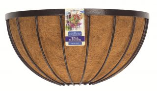 Georgian 50cm Decorative Wall Basket Planter