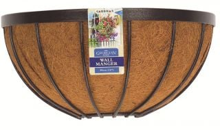 Georgian 40cm Decorative Wall Basket Planter