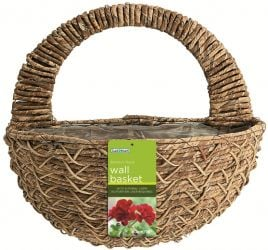 40cm Bamboo Rope Decorative Wall Basket