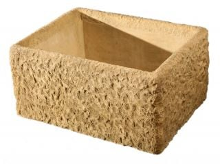 L65cm Concrete Rustic Finish Planter