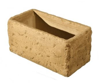L60cm Concrete Natural Finish Deep Planter