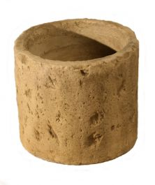 H33cm Concrete Natural Finish Small Cylinder Planter