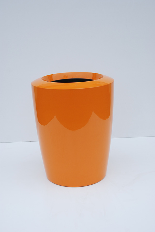 Anakena Small Planter in Orange – H45xDia38
